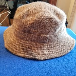 Ralph Lauren Polo Bucket Hat Tweed
